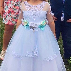 Other - Tiffany Blue Girls formal Easter Birthday dress